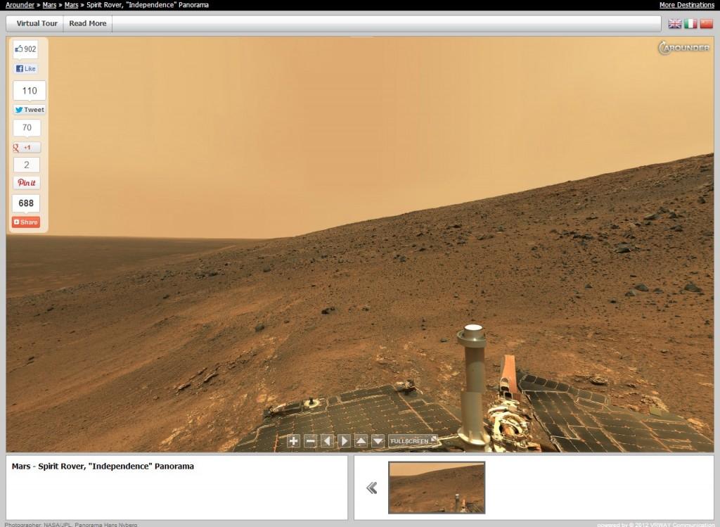 Панорамы Марса