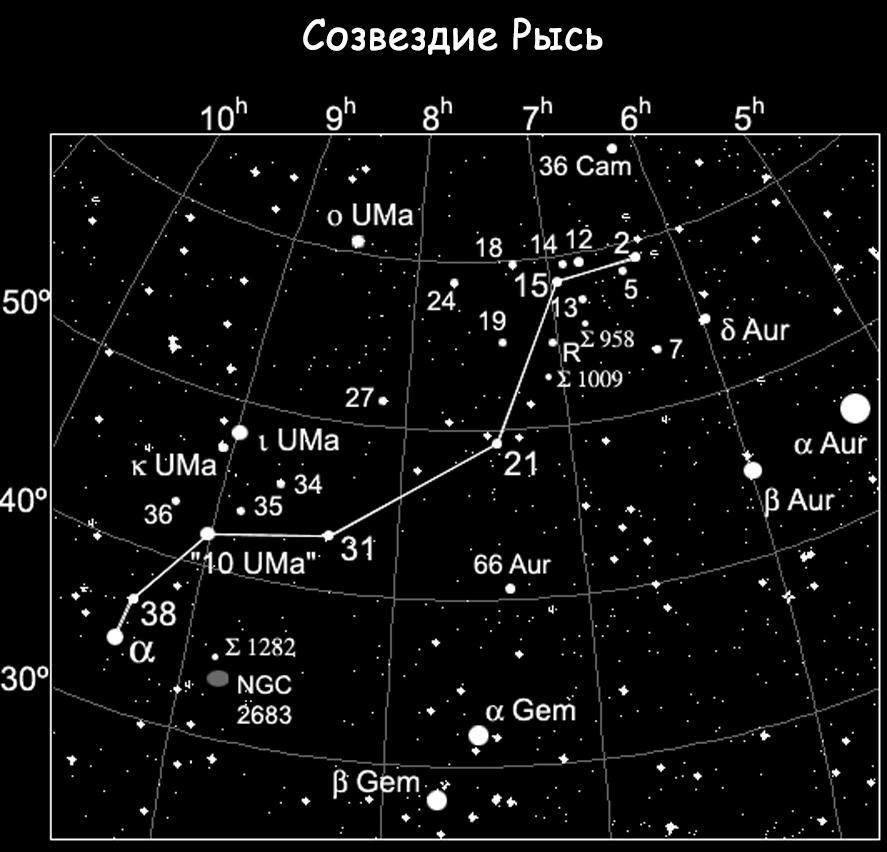 Созвездие Рысь
