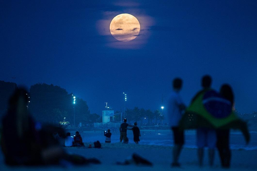 Суперлуние,10.08.2014, Бразилия