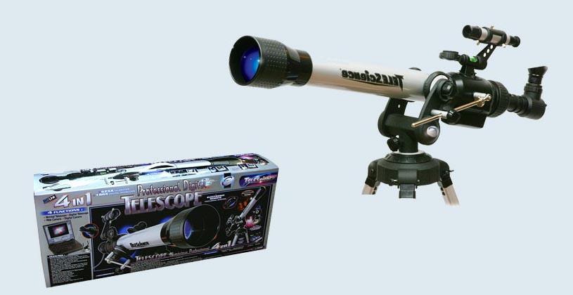Телескоп — отличный подарок вашему ребенку