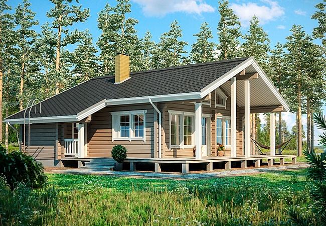Строительство деревянных домов и бань по готовым проектам