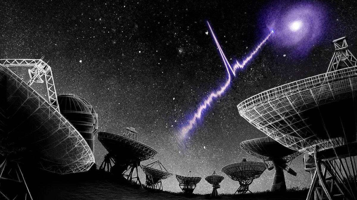 Что представляют собой «быстрые радиовспышки»?