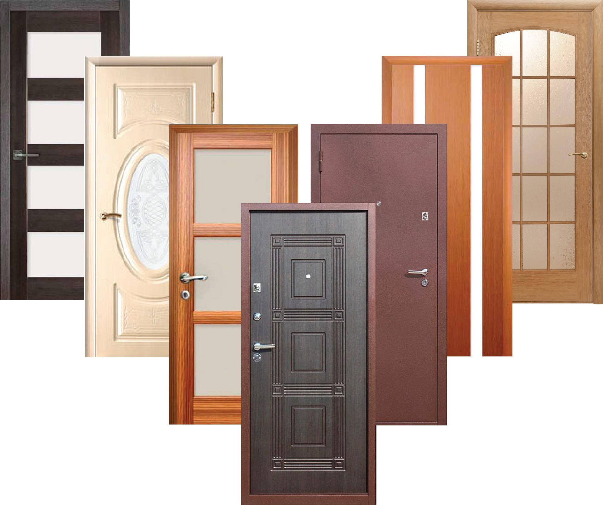 ТОП-7 стильных входных и межкомнатных дверей в 2020 году
