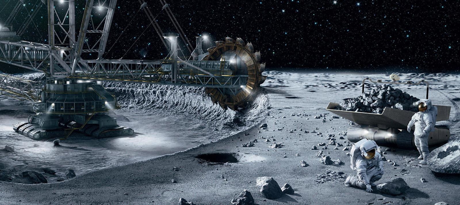 8 стран подписало договор о добыче ресурсов на Луне