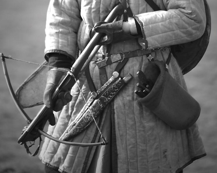 арбалеты во время битвы при Гастингсе
