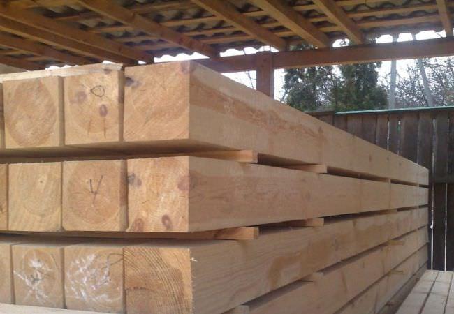 Пиломатериалы и брус деревянный от производителя в Харькове