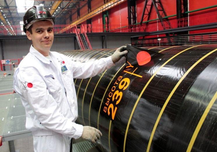 Производство сварных труб большого диаметра в России