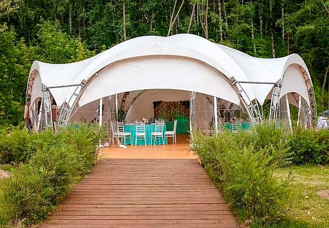 Сферический шатер: 7 главных преимуществ