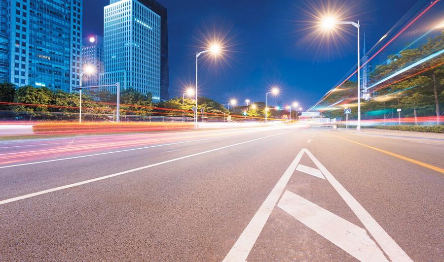 Промышленное светодиодное уличное освещение