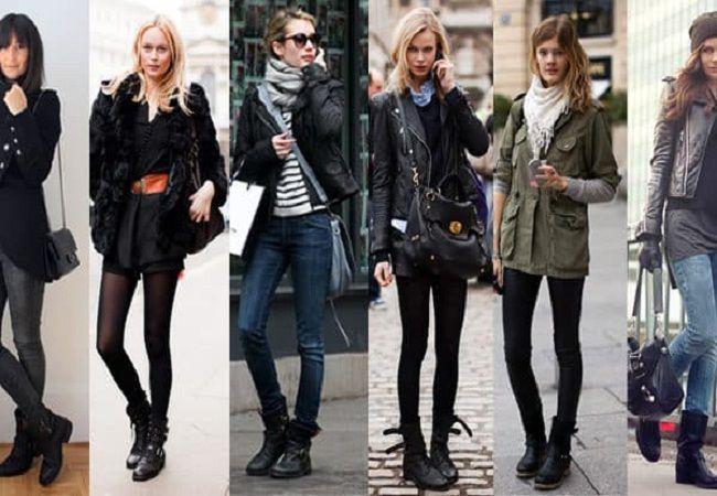 Эффектная женская обувь на осень-зима