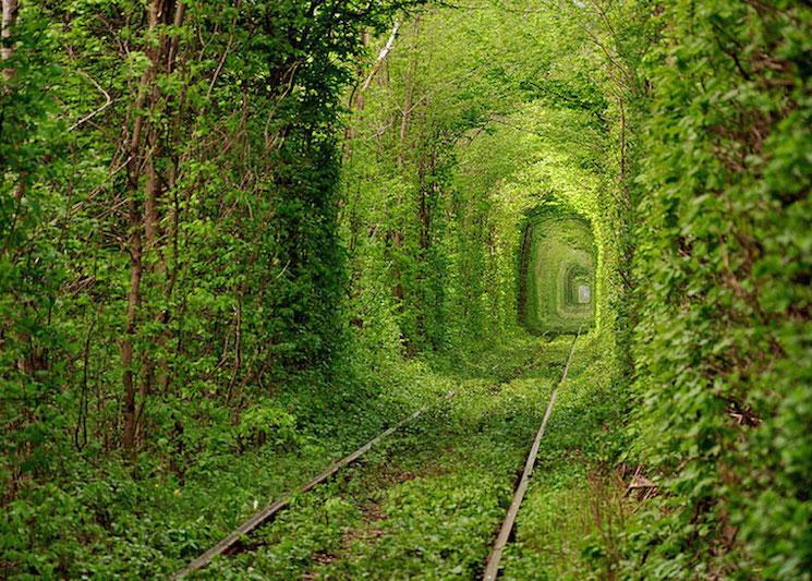 Романтический тоннель любви, Украина