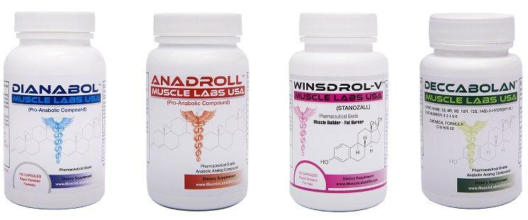 Анаболики для роста мышц