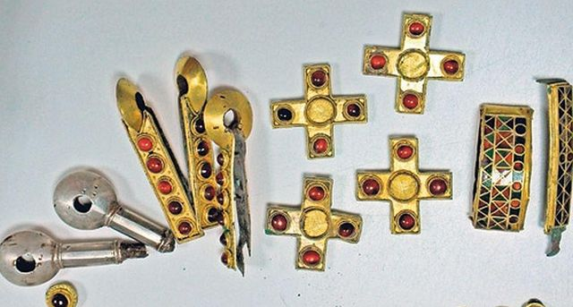 Артефакты V-IV веков найденные в Курской области