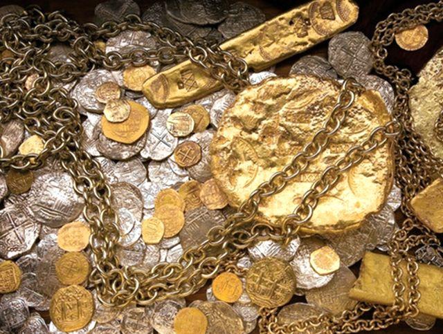 Сокровища с галеона Аточа