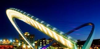 Мост Гейтсхед в Ньюкасле
