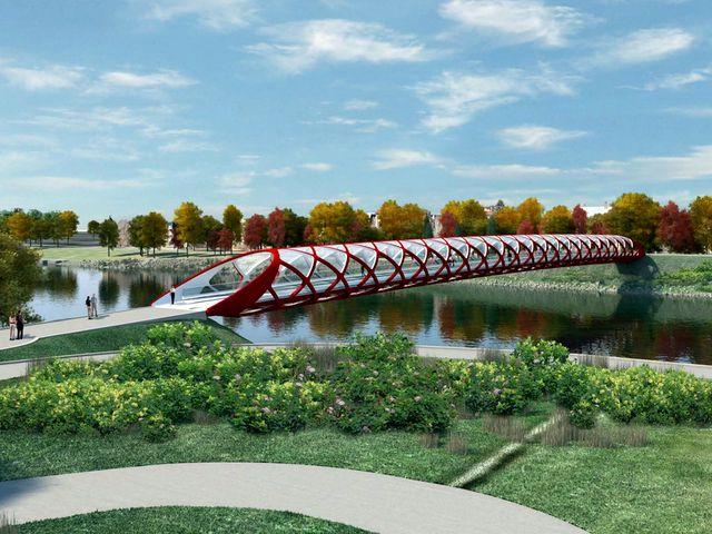 Мост Мира в Калгари