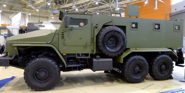 Бронированный Урал-4320-ВВ
