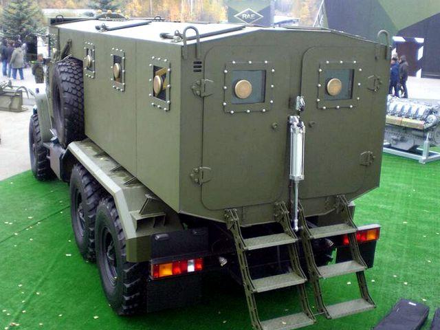 Урал-ВВ - вид сзади