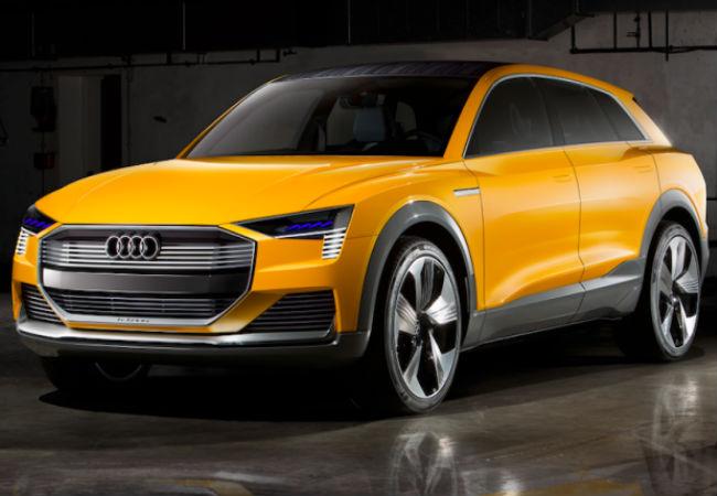 Какие инновации у Audi E-tron?
