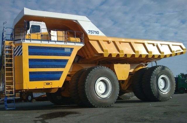 Самый большой автомобиль на планете БелАЗ 75710