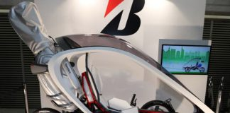 Bridgestone's pedal-electric trike