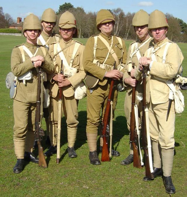 камуфляж времен англо-бурской войны