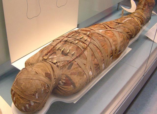 Раковая опухоль в мумии