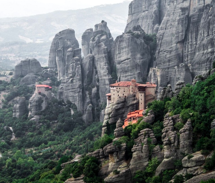 Монастыри на скалах Метеоры, Греция