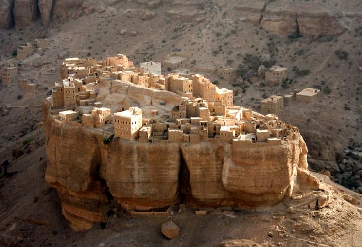 Древний город Вади Даван, в Йемене