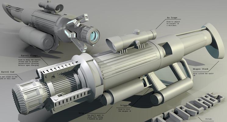 Энергетическое оружие будущего
