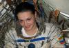 Женщина космонавт Елена Серова