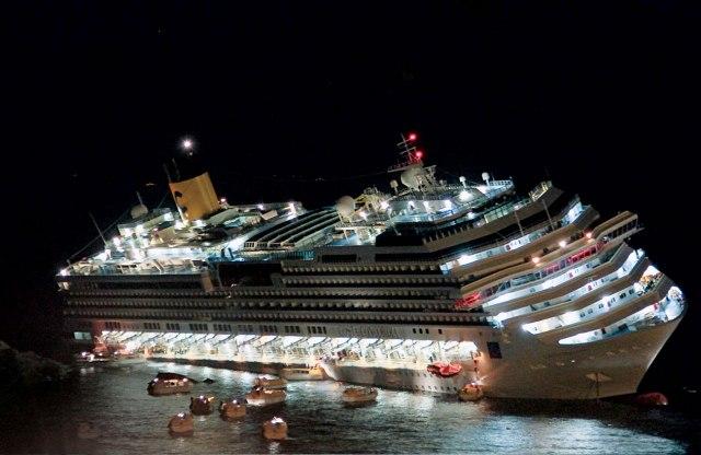эвакуация с лайнера