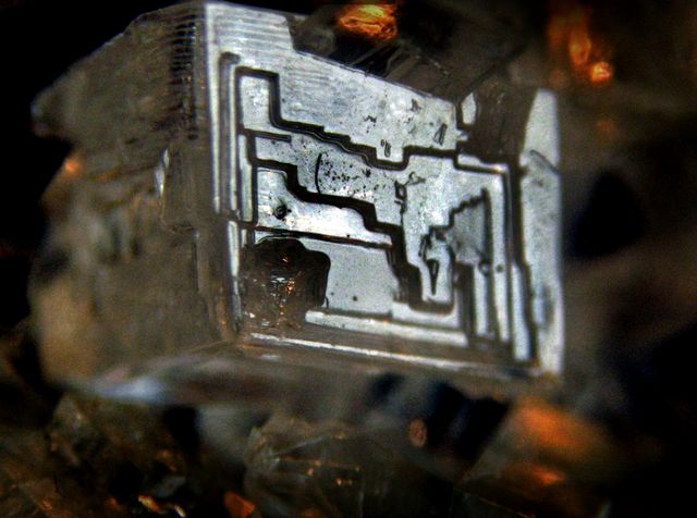 Кристалл хлората натрия