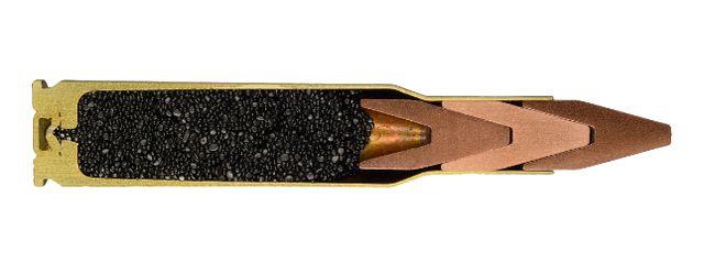 Пулемётный патрон Salvo Squeeze Bore 7,62 с триплексной пулей