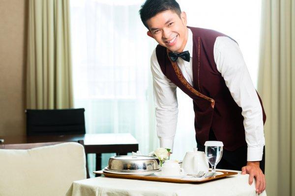 Обслуживание номеров в отеле Грейс Глобал