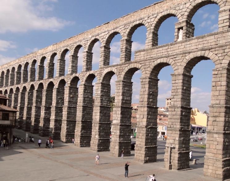 Древние римские акведуки