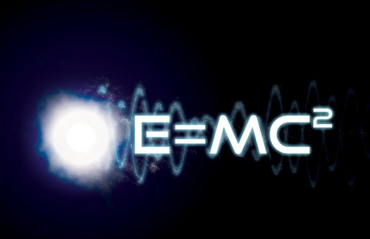 E=mc2 - Уравнение энергии теории относительности