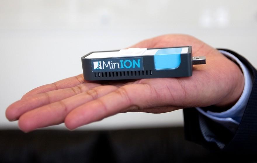 MinION — расшифровать ДНК можно у себя дома!