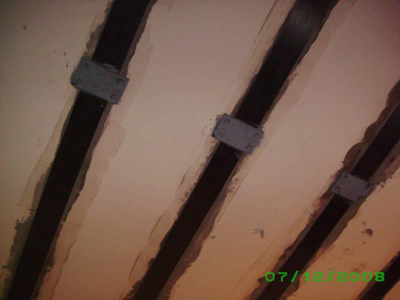 Ремонт и усиление конструкций. Усиление углепластиком под ключ от 4000 рублей/м.кв.