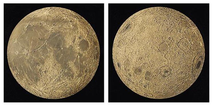 Отличия обратной стороны Луны от видимой с Земли