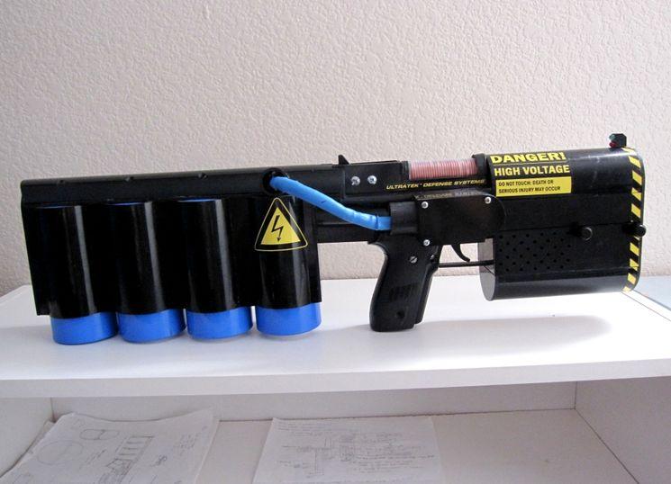Изготовление пушки Гаусса в домашних условиях
