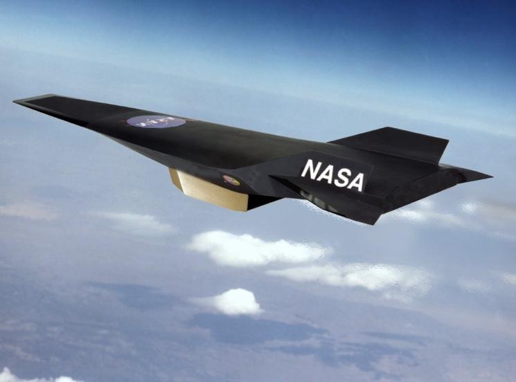 Гиперзвуковой самолет NASA X-43