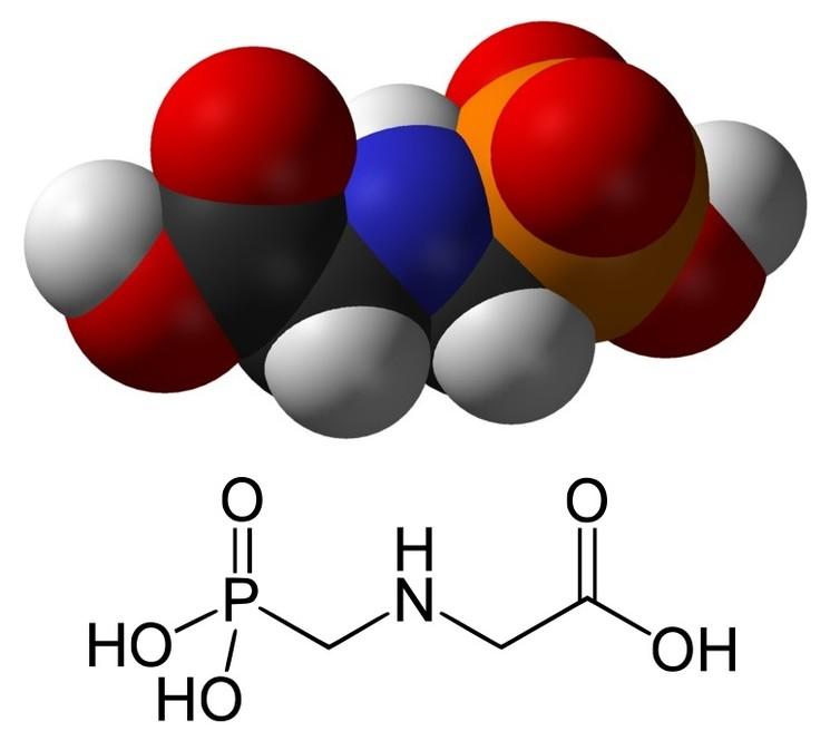 Глифосат молекула