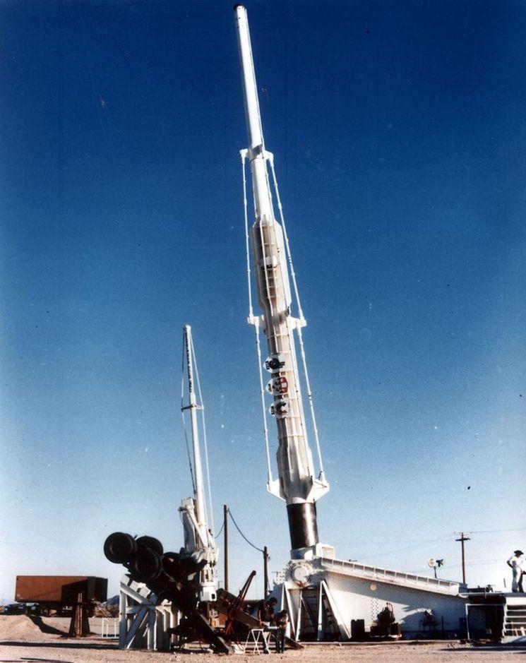 Испытания орудия проекта HARP в Аризоне