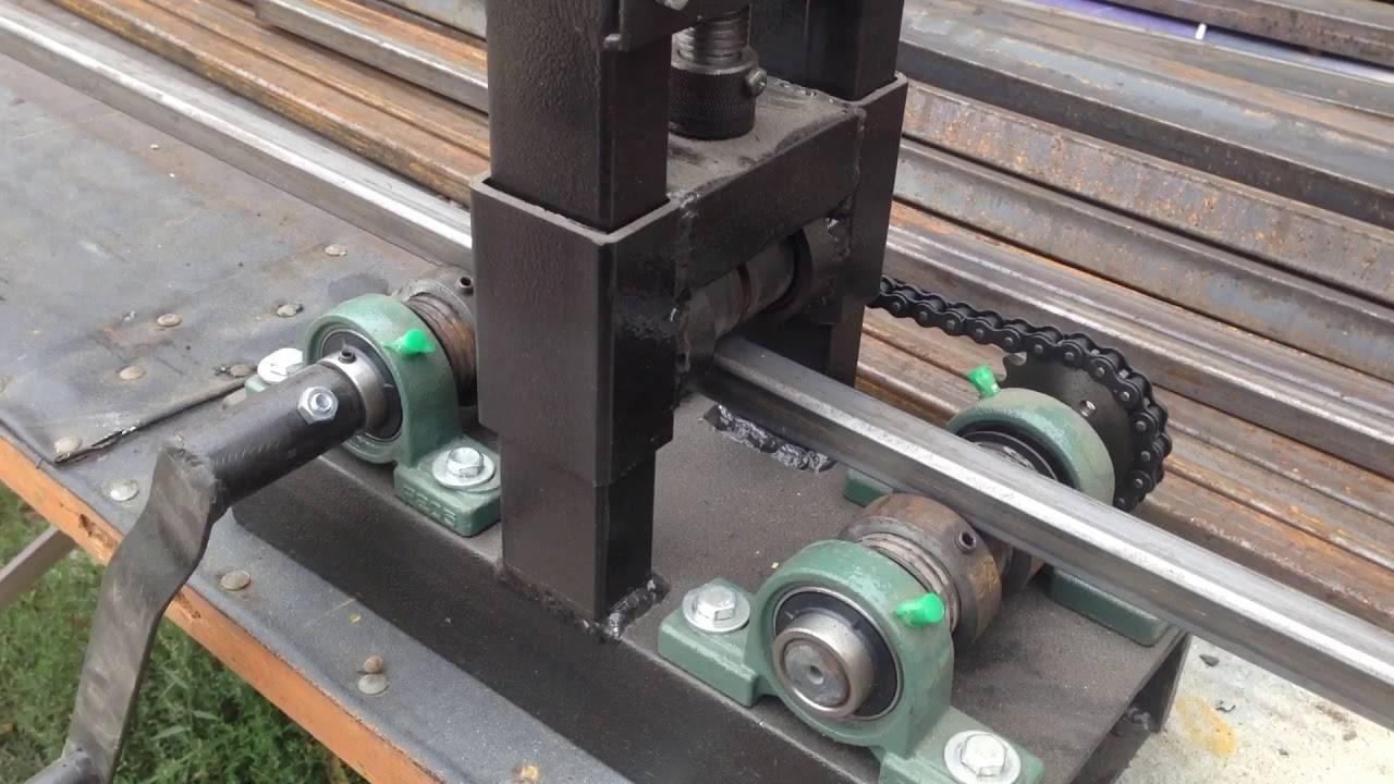 Приспособления для гибки стальных труб.