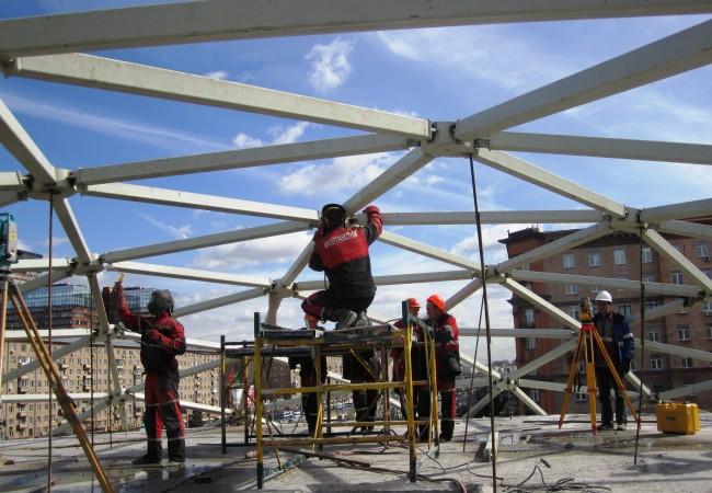 Преимущества покупки строительных вышек тур в компании «Укр-Стандарт»