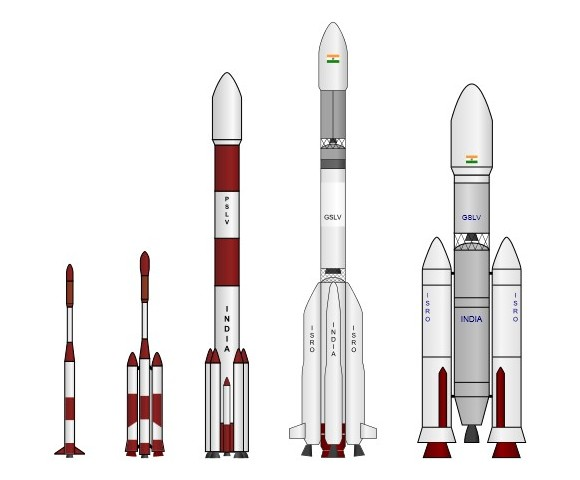 Индиские космические ракеты
