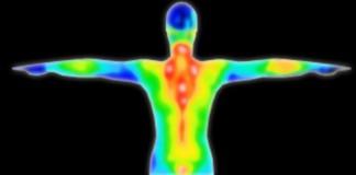 человек в инфракрасном спектре