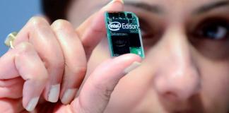 Микрокомпьютер Intel Edison