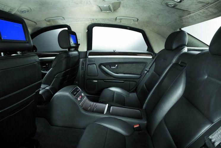 Интерьер Audi A8 L Security